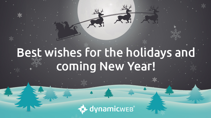 Merry Christmas and Happy New Year from Dynamicweb
