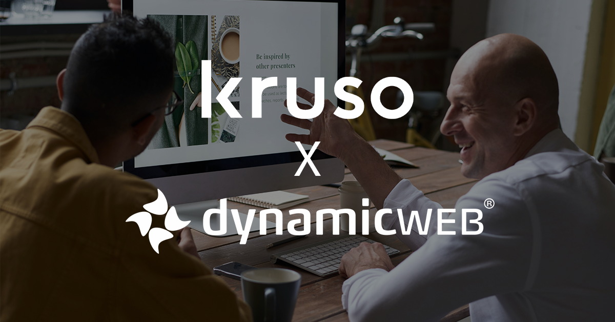 Kruso Joins Dynamicweb's Partner Network
