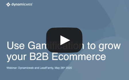 Use Gamification to grow your B2B Ecommerce