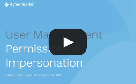 User Management, Permissions and Impersonations