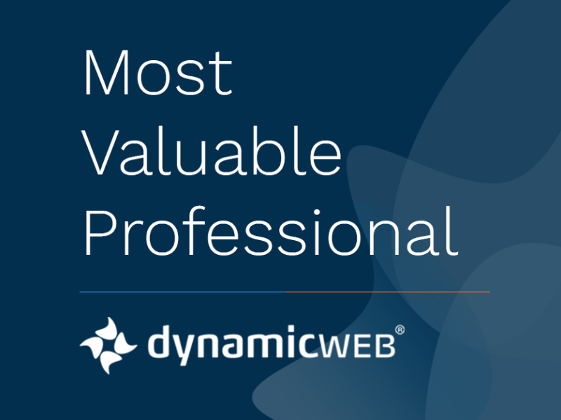 Dynamicweb Announces 2020 Most Valuable Professionals
