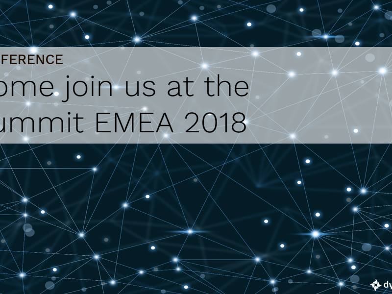 Join us at the Summit EMEA 2018