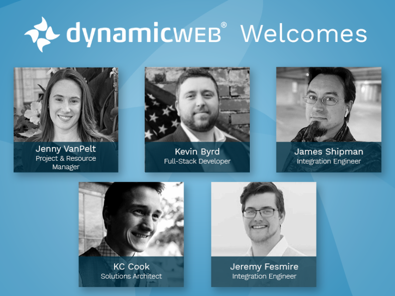Dynamicweb North America hires 5 new team members