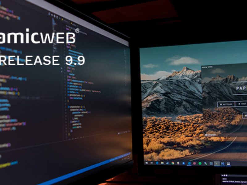 Dynamicweb 9.9 arrives August 25th