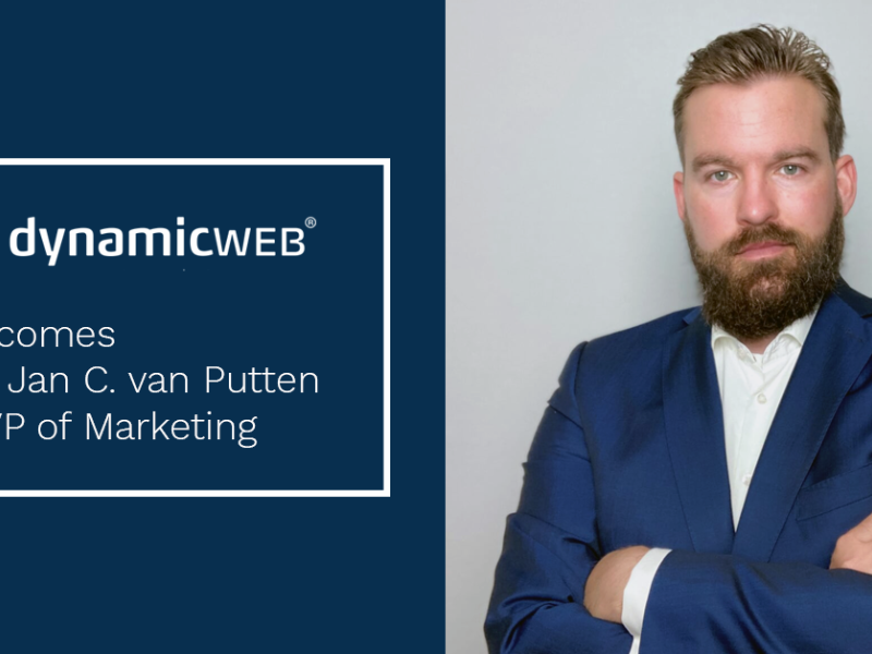Dynamicweb Appoints Eric Jan C. van Putten as VP of Marketing