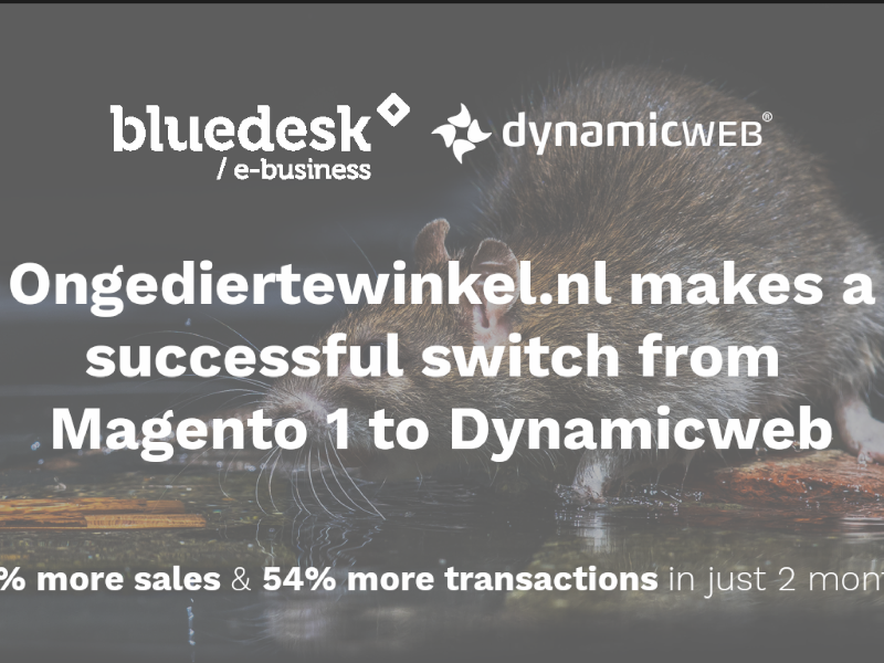 45% more turnover by replatforming from Magento 1 to Dynamicweb